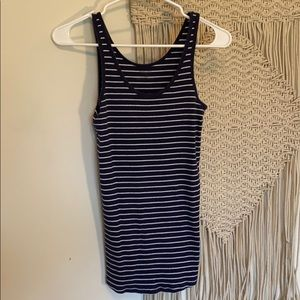 Striped maternity tank Size S